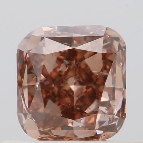 Fancy Deep Pink-Brown